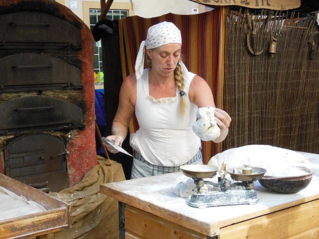 Baker at Barcelona Medieval Market