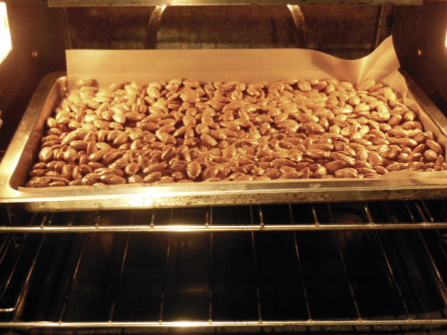 cooking almonds