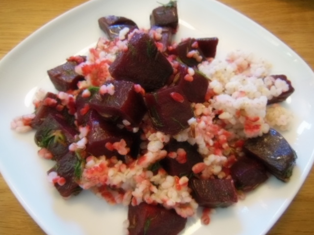 Beetroot and barley