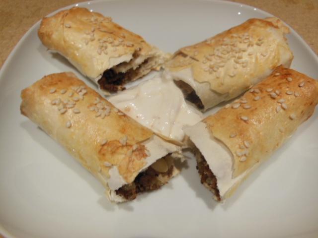 beef & pinenut burek