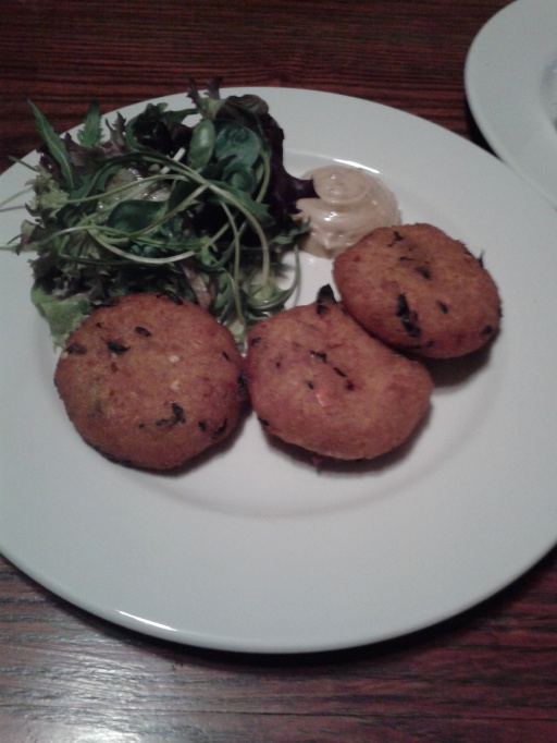Sweet potato and squash cakes