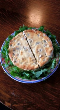 broadbean cheesecake